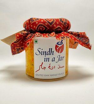 Sindh in a Jar - Grated Raw Mango Pickle