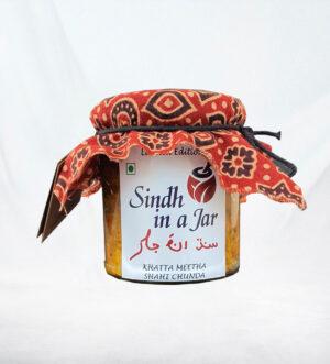 Sindh in a Jar – Khatta Meetha Shahi Chunda